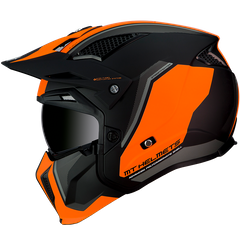 Мотошлем MT STREETFIGHTER SV TWIN MATT ORANGE L