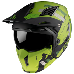 Мотошлем MT STREETFIGHTER SV SKULL 2020 Matt Green XS